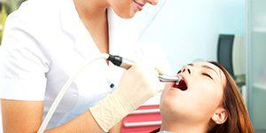 Ультразвуковая чистка зубов air-flow